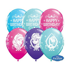 Balon FROZEN - HAPPY BIRTHDAY