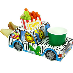 Catering - Jungle Safari Combi Food Tray