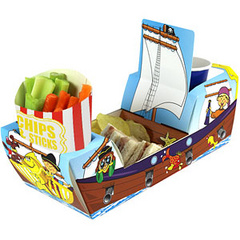 Catering - Pirate Ship Combi Food Tray