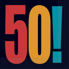 Serviete 50 let