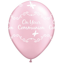 Balon ON YOUR COMMUNION - roza